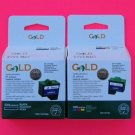 Conpatible Ink Cartridges Combo Black and Color for Lexmark #16 #26 or #17 #27