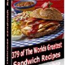 379 Sandwich Recipes Collection eBook