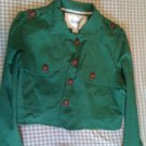 Cropped Green jacket.