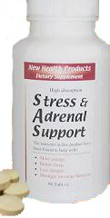 Stress and Adrenal Support Supplement (90 Chewable Tablets)