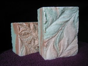 Green Meadows Sea Salt Soap Handcrafted Old Fashioned Natural Handmade Soap 5.5 oz