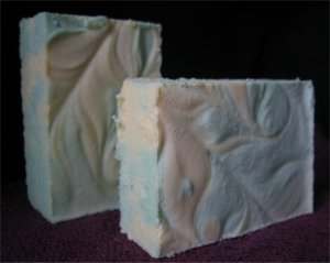 Clover and Aloe Sea Salt Soap Handcrafted Old Fashioned Natural Handmade Soap 5.5 oz