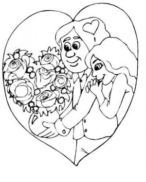 VALENTINES DAY Printable Coloring eBook on CD - 119 Pages Coloring Sheets Book