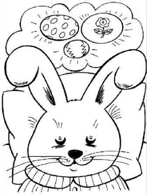 EASTER Printable Coloring eBook on CD - 78 Pages Coloring Sheets Book Spring