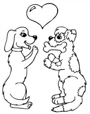 DOGS Printable Coloring eBook on CD - 101 Pages Coloring Sheets Book