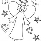 ANGELS Printable Coloring eBook on CD - 35 Pages Coloring Sheets Book