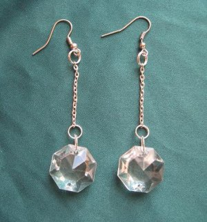 crystal sexy evening drop earrings