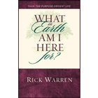What On Earth Am I Here For? Booklet By Rick Warren