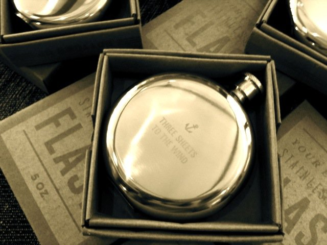 Three Sheets to the Wind 5 oz. Flask