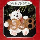 Hallmark Keepsake Christmas Ornament Fabulous Decade 1998 Polar Bear #9 VGB ~*~v