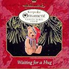 Hallmark Keepsake Christmas Ornament KOCC Membership 1999 Waiting for a Hug Bear GB ~*~