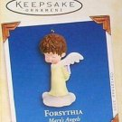 Hallmark Keepsake Christmas Ornament Mary's Angels 2005 Forsythia with Gift Box #18 VGB ~*~