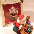 Hallmark Keepsake Christmas Ornament COLORWAY / REPAINT Santa's Magic Sack 2005 VIP Gift VGB ~*~v
