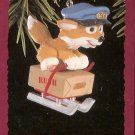 Hallmark Keepsake Christmas Ornament 1993 Quick as a Fox Mail Carrier GB ~*~v