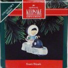 Hallmark Keepsake Christmas Ornament Frosty Friends 1992 Eskimo Orca Whale  #13 FB ~*~v