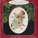 Hallmark Keepsake Christmas Ornament Marbles Champion 1997 Norman Rockwell GB ~*~v