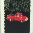 Hallmark Keepsake Christmas Ornament 1995 All American Trucks 1956 Ford Truck #1 FB ~*~v