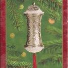 Hallmark Keepsake Christmas Ornament 2000 Millennium Time Capsule Silver GB ~*~v
