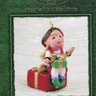 Hallmark Keepsake Christmas Ornament KOCC Curius the Elf 2002 Thank You Membership Renewal GB ~*~v