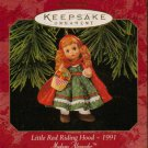 Hallmark Keepsake Christmas Ornament 1997 Little Red Riding Hood Madame Alexander #2 GB ~*~v