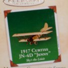 Hallmark MINIATURE Keepsake Christmas Ornament 2002 Curtiss JN-4D 1917 Jenny #2 GB ~*~