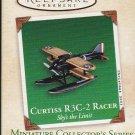 Hallmark MINIATURE Keepsake Christmas Ornament 2003 Curtiss R3C-2 Racer #3 GB ~*~