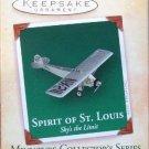 Hallmark MINIATURE Keepsake Christmas Ornament 2004 Spirit of St. Louis #4 GB ~*~