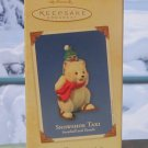 Hallmark Keepsake Christmas Ornament Snowball & Tuxedo 2003 Snowshoe Taxi #3 Bear Penguin GB ~*~v
