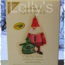 Hallmark Keepsake Christmas Ornament Crayola Crayon 2009 Colorful Santa SPECIAL GB ~*~v