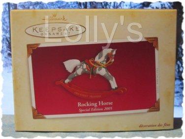 Hallmark Keepsake Christmas Ornament Rocking Horse 2005 SPECIAL EDITION FB ~*~v