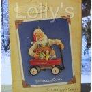 Hallmark Keepsake Christmas Ornament Toymaker Santa 2004 Wagon #5 GB ~*~