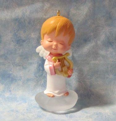 Hallmark Keepsake Christmas Ornament Mary's Angels 2001 Chrysantha #14 Angel NO Box ~*~v