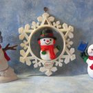 Hallmark Keepsake Christmas Ornament LOT of 3 Snowmen NO Boxes ~*~v