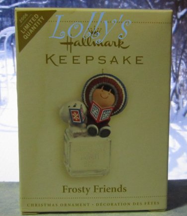 Hallmark Keepsake Christmas Ornament Frosty Friends 2006 Limited Repaint 1980 COLORWAY VGB ~*~