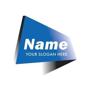 Blue tag logo #1082