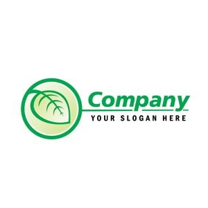 Green leaf natural logo #1183