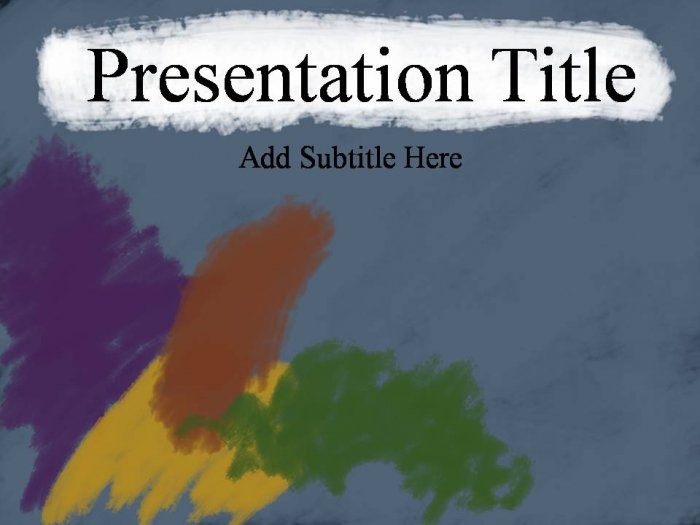 PowerPoint Artistic theme_200