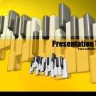 PowerPoint Yellow piano theme_2001