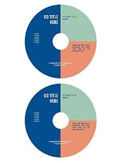 """Aspect"" cd/dvd label template"