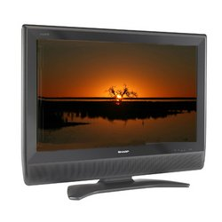 Sharp 45-Inch 16:9 AQUOS Television with ATSC/QAM/NTSC Tuners Brand New Black