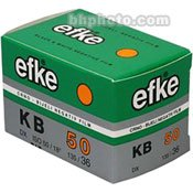 Efke KB50 Black and White 135-36 Size Film