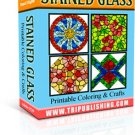 Stainglass printable ebook