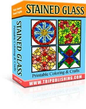 Stainglass printable ebook