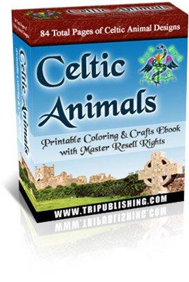 Celtic Animals Printables Ebook