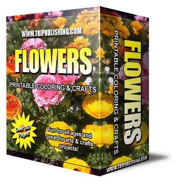 Flower printable ebook