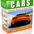 Cars printable ebook