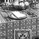 Vintage Tablecloths patterns