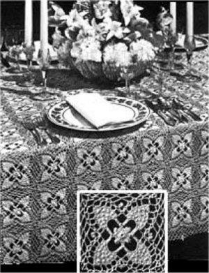 Vintage Tablecloths patterns