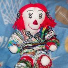 YoYo Raggedy Anne Doll Pattern