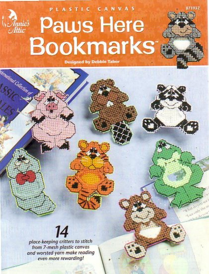 Paws Here Bookmarks